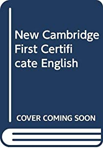 Paperback New Cambridge First Certificate English Book