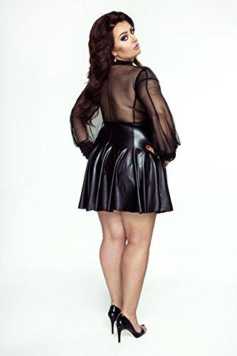 Wetlook dress by Noir Handmade Black