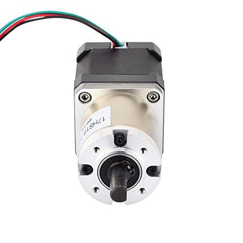 17HS19-1684S-PG51 Ltd STEPPERONLINE 51:1 Planetary Gearbox High Torque Nema 17 Stepper Motor Precision Camera DIY OSM Technology Co