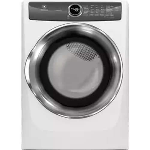 Electrolux EFMG527UIW 27 Inch Gas Dryer with 8 cu. ft. Capacity, 8 Dry Cycles, 5 Temperature Settings, in White