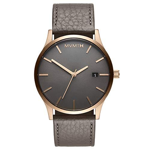 MVMT Classic Watches   45 MM Men's Analog Minimalist Watch   Bronze Age