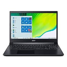 Acer Aspire 7 Laptop, 15.6″ Full HD IPS Display, AMD Ryzen 5 3550H, NVIDIA GeForce GTX 1650, 8GB DDR4, 512GB NVMe SSD, Backlit Keyboard, Windows 10 Home, A715-41G-R7X4