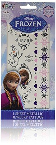 Disney Frozen Princess Metallic temporary
