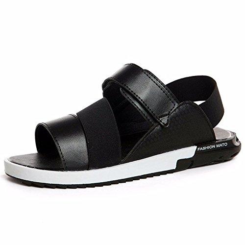 Estate Men Flip flop tendenza uomini sandali summerTrend moda non slip Beach trend Leisure Sandali, nero, UK = 7, EU = 40 2/3