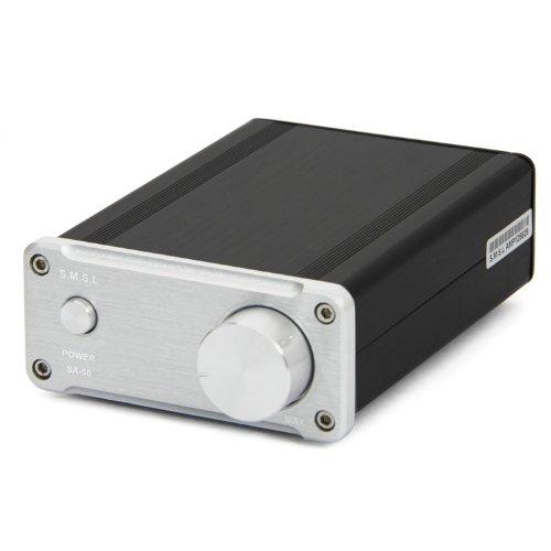 smsl-sa50-50wx2-tda7492-class-d-amplifier-power-adapter-silver