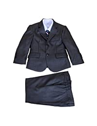 Cinda Clothing Big Boys' 5 Piece Suits Wedding Page Party Prom