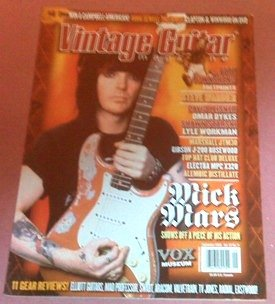 Vintage Guitar Magazine (September 2009) (Mick Mars - Shows Off A Piece of Action + Pete Townshend - Fretprints)