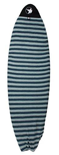 PAMGEA Surfboard Sock Cover (Aqua) - Lightweight Board Bag (Shortboard, Longboard, and Hybrid)