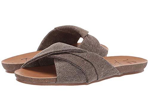 New Blowfish Women's Garliss Slide Sandal Mud Smokey Twill 6.5