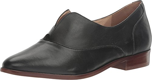 Price comparison product image LFL by Lust For Life Women's Nivea Black Leather Loafer