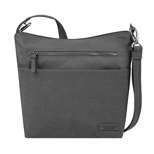 Travelon: Anti-Theft Metro Crossbody Bag - Gray Heather