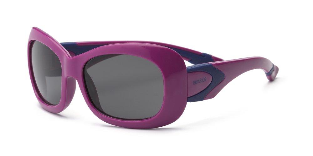 Real Kids 4BREPUNVP2 Breeze P2 Kindersonnenbrille, Flexible Passform, Größe 4+, lila/marineblau Größe 4+