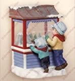 CHRISTMAS WINDOWS #5 CLUB MEMBERSHIP 2007 HALLMARK KEEPSAKE ORNAMENT QXC7001