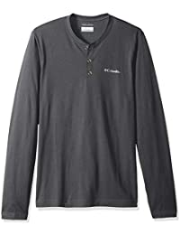 Men's Cullman Crest Long Sleeve Henley