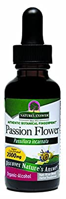 Nature's Answer Passionflower with Organic Alcohol, 1-Fluid Ounce