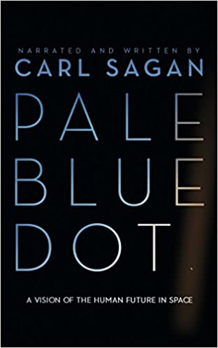 ผลการค้นหารูปภาพสำหรับ carl sagan pale blue dot