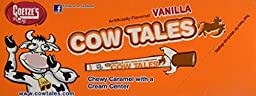 Goetzes Vanilla Flavored Cow Tales 36 One Ounce Pieces