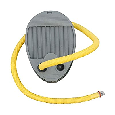 AQUOS Foot Pump with Hose for Inflatable Boat, Pontoon Boat, Raft, Dinghy
