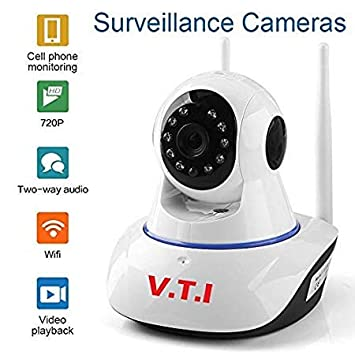V.T.I. IP Dual Antenna Wifi Enabled Wireless Indoor Security