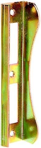 37 mm starke Rahmen GAH-Alberts 215378 Anschlag f/ür Tore mit Einsteckschloss feuerverzinkt f/ür ca 37 x 181 mm