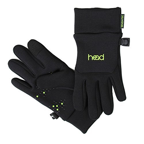 HEAD Kids' Touchscreen Gloves - Black