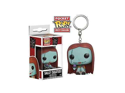 Nightmare Before Christmas Keychains (The Nightmare Before Christmas Sally Seated Pocket Pop! Key Chain)
