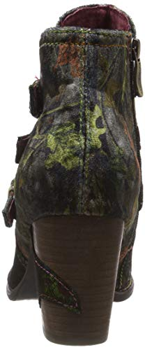 Verde Botines Anna Mujer Kaki Vita Para 128 kaki Laura xStnYqRn