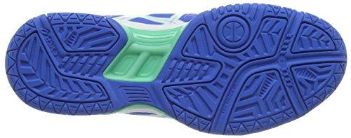 Handball Femme Asics 3901 Chaussures white Blue electric Bleu De squad Gel navy 6X6aF