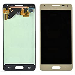 Lcd Display Digitizer Touch Screen Assembly For Samsung Galaxy Alpha G850y G850a G850t G850m With Free Tools (Gold)