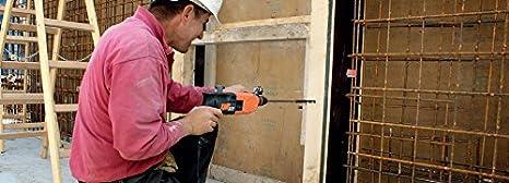 Arbeitsl/änge: 550 mm Durchmesser: 8 mm 1 V Gesamtl/änge: 600 mm Heller 12103 CV Schalungsbohrer 8 x 550