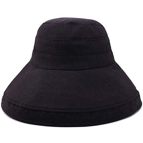 MJHZQ Baseball Cap Girls Simulated Pearl Sun Protection Caps Mesh Rabbit Ear Kids Spring Summer Sun Hat Black