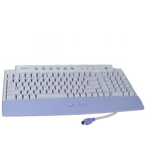 (Sony VAIO PCVA-KB1P/UB 100-Key PS/2 Multimedia Keyboard (Gray))