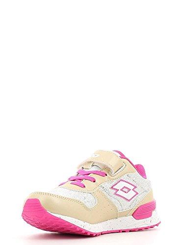 Lotto Sport - Zapatillas de voleibol de Material Sintético para hombre Varios Colores Multicolore BEIGE/GLITTER