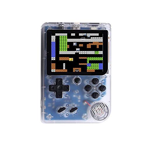 Cywulin Retro Mini Handheld Video Game Player FC Console Gameboy Built-in 168 Classic Games Travel Portable Gaming System Electronics Machines 3 Inch Support TV Play Present for Boy Kids Adult (White)