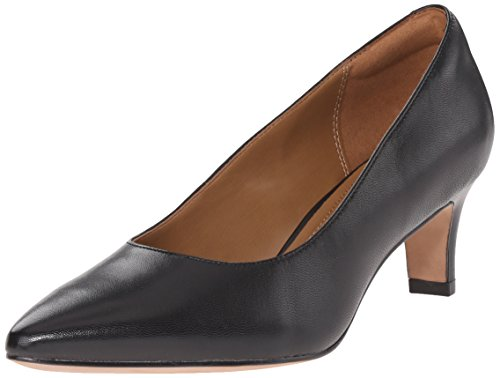 cheap manchester great sale CLARKS Women's Crewso Wick Dress Pump Black Leather cheap latest collections free shipping fast delivery prices cheap online explore sale online zogQAWtL7