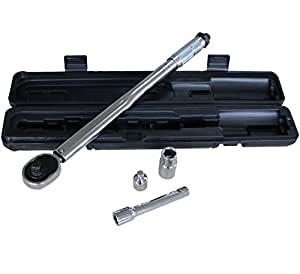 how to use a torque wrench with an extension