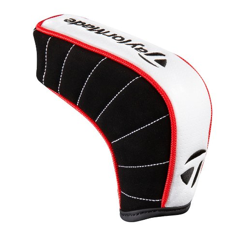 TaylorMade TM Blade Putter Headcover, White, Outdoor Stuffs