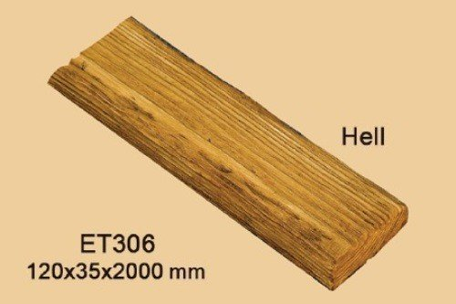 2 metros de techo/pared Tabla de espuma de poliuretano Dekor 120 x 35 mm, et306 H Serie rústico: Amazon.es: Bricolaje y herramientas