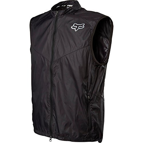 Fox Head Men's Dawn Patrol Vest, Black, Small by Fox Racing
