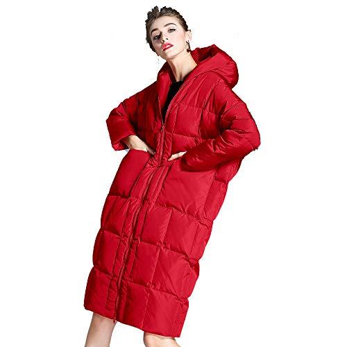 Da Donna Costume Outwear Giacche Down Outdoor Cappotto Lungo Rosso Xs Abbigliamento Inverno Donna Warm vq4wqd8