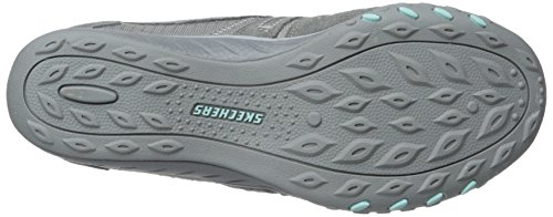 Femme Sneakers Basses Easy Gris Jackpot Breathe Skechers qXw7gPW