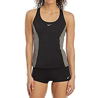 Amazon.com: NIKE Women's Tankini 2-Piece Racer Back