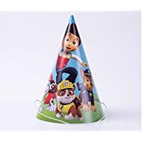 Astra Gourmet Paw Dog Patrol Birthday Party Supplies - 24 Pack Cone Party Hats