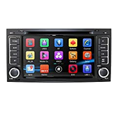 Compatible models: Touareg 2004-2011 Transporter 2004-2009 T5 Multivan to 2009        External Memory: Up to 32GB/TF Card        Features: Touch Screen, Games, 3G(WCDMA), Steering Wheel Control, RDS, iPod,GPS, Built-in Bluetooth       ...