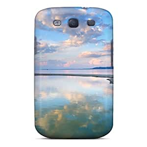 Premium Evening Landscape Back Cover Snap On Case For Galaxy S3