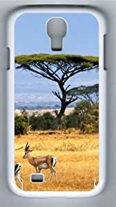 Antelopes PC Case Cover for Samsung Galaxy S4 and Samsung Galaxy I9500 White