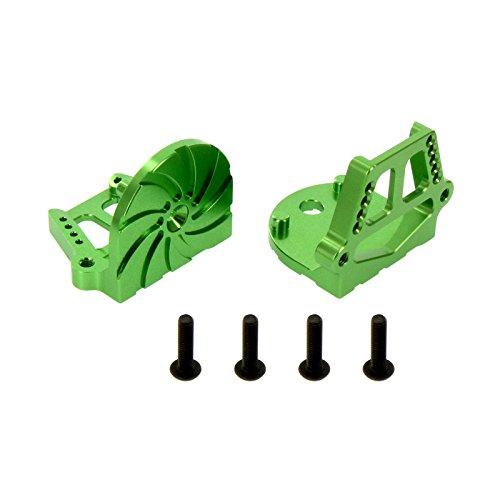 - Atomik RC Traxxas X-Maxx Alloy F/R Motor Mount Set, Green TRX 7760