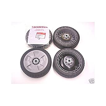 Honda walkbehind 4 ruedas trasera y frontal hrb217 HRB216 44710-ve1-e00, 42710-vg3-: Amazon.es: Amazon.es