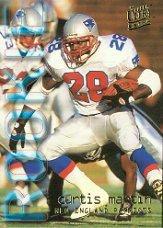 tball Rookie Card #447 Curtis Martin Mint ()