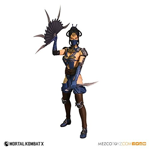 Mortal Kombat X / 6 Inch Action Figure Series 2: Kitana by Mezco -